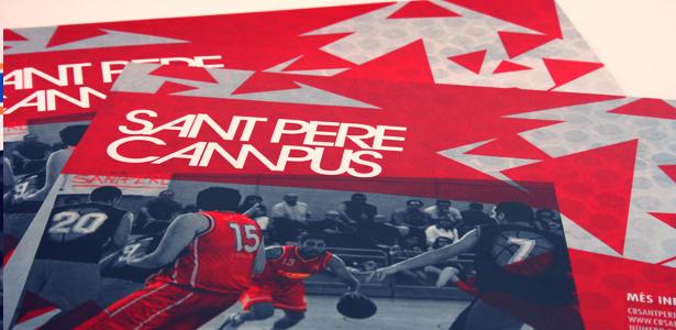 Poster Sant Pere Campus Navidad 2011